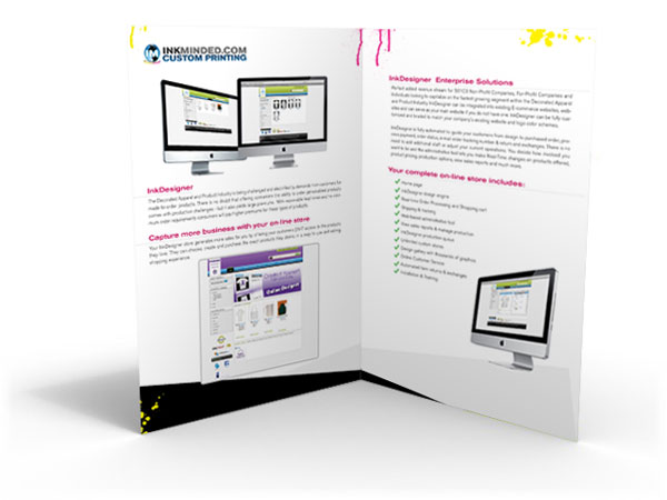 Brochure for Inkminded