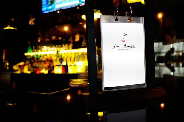 Bar Rouge Bar Menu
