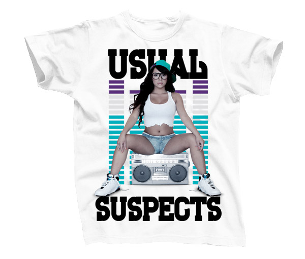 Usual Suspects Tee