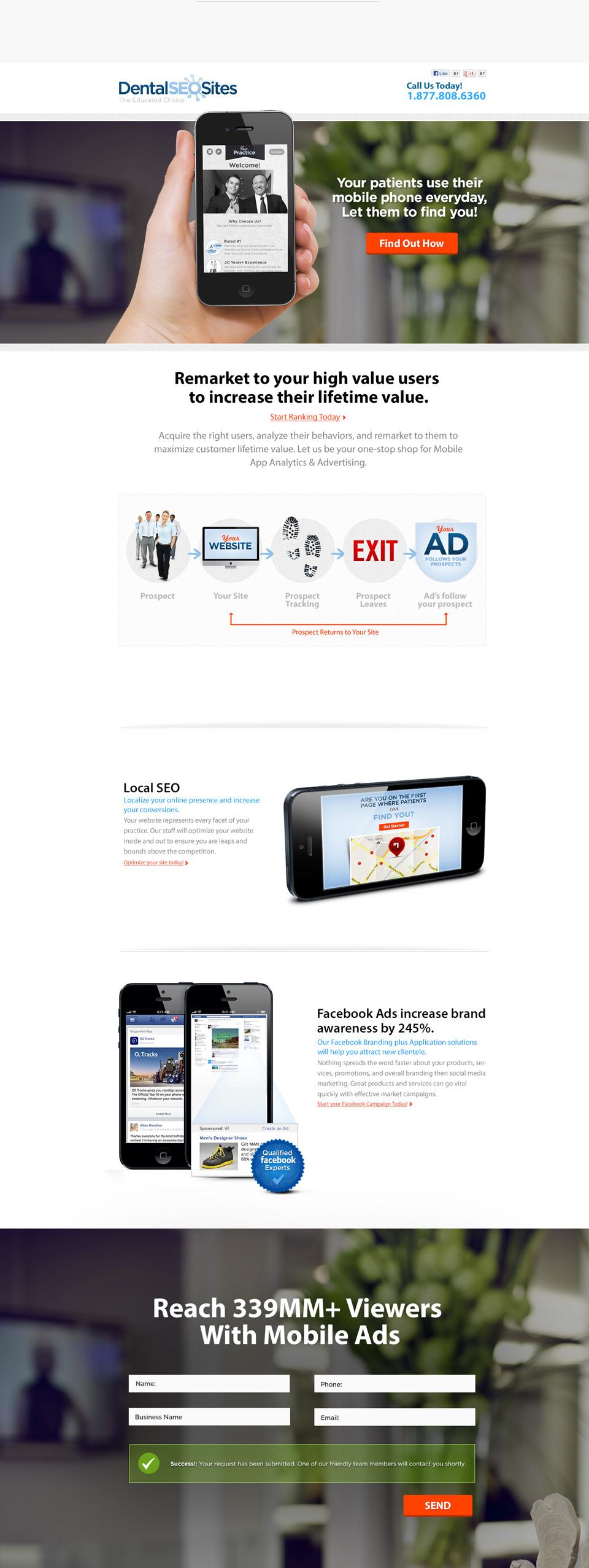 dentalseosites-landing-page